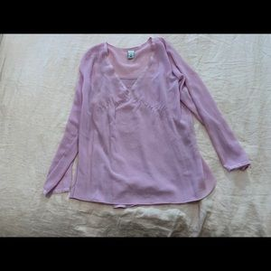 Old Navy Maternity Long Sleeve Blouse
